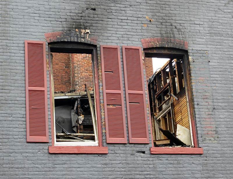 wood fire repair restoration services